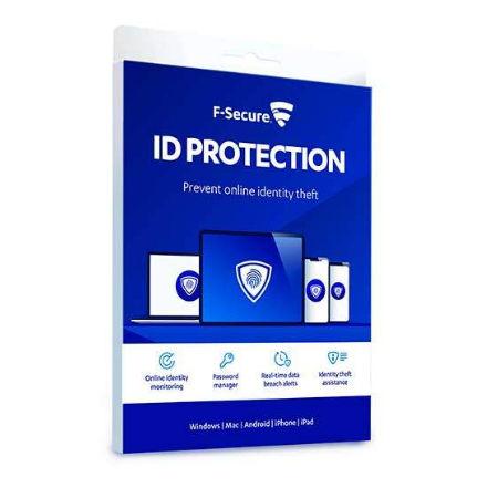 F-SECURE ID Protection – Tilauslisenssi (1 vuosi) – 5 laitetta – Mobile – (ESD)